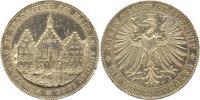 Taler 1863 Frankfurt-Stadt  Winz. Randfehler, sehr schön - vorzüglich  150,00 EUR  zzgl. 4,00 EUR Versand