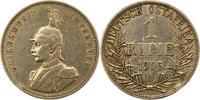 Rupie 1905  A Deutsch Ostafrika  Randfehler, sehr schön  55,00 EUR  zzgl. 4,00 EUR Versand