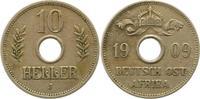 10 Heller 1909  J Deutsch Ostafrika  Sehr schön  20,00 EUR  zzgl. 4,00 EUR Versand