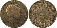1/2 Gulden 1840 Nassau Adolph 1839-1866. Winz. Kratzer, sehr schön  50,00 EUR  zzgl. 4,00 EUR Versand