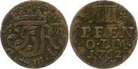 4 Pfennig 1762 Oldenburg Friedrich von Dänemark 1746-1766. Sehr schön  75,00 EUR  zzgl. 4,00 EUR Versand