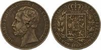 Taler 1860  B Oldenburg Nicolaus Friedrich Peter 1853-1900. Sehr schön  115,00 EUR  zzgl. 4,00 EUR Versand