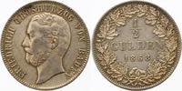 1/2 Gulden 1868 Baden-Durlach Friedrich I. 1852-1907. Sehr schön - vorz... 75,00 EUR  zzgl. 4,00 EUR Versand