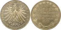 Doppelgulden 1849 Frankfurt-Stadt  Minimal gereinigt, vorzüglich +  145,00 EUR  zzgl. 4,00 EUR Versand