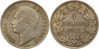 Gulden 1842 Württemberg Wilhelm I. 1816-1864. Schöne Patina. Fast vorzü... 85,00 EUR  zzgl. 4,00 EUR Versand