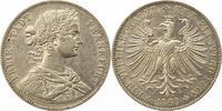 Taler 1860 Frankfurt-Stadt  Winz. Randfehler, vorzüglich  75,00 EUR  zzgl. 4,00 EUR Versand