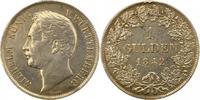 Gulden 1842 Württemberg Wilhelm I. 1816-1864. Henkelspur, sehr schön  30,00 EUR  zzgl. 4,00 EUR Versand