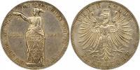 Taler 1862 Frankfurt-Stadt  Winz. Randfehler, vorzüglich  100,00 EUR  zzgl. 4,00 EUR Versand