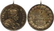 Silbermedaille 1888 Brandenburg-Preußen Wilhelm I. 1861-1888. Originalh... 35,00 EUR  zzgl. 4,00 EUR Versand