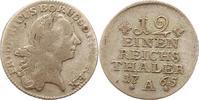 1/12 Taler 1765  A Brandenburg-Preußen Friedrich II. 1740-1786. Fast se... 20,00 EUR  zzgl. 4,00 EUR Versand