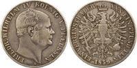 Taler 1859  A Brandenburg-Preußen Friedrich Wilhelm IV. 1840-1861. Mini... 44,00 EUR  zzgl. 4,00 EUR Versand