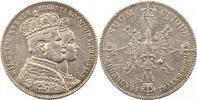 Krönungstaler 1 1861 Brandenburg-Preußen Wilhelm I. 1861-1888. Henkelsp... 22,00 EUR  zzgl. 4,00 EUR Versand