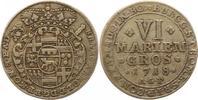 6 Mariengroschen 1718  WR Münster-Bistum Franz Arnold von Metternich 17... 32,00 EUR  zzgl. 4,00 EUR Versand