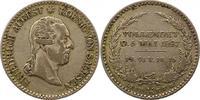 1/6 Sterbetaler 1827 Sachsen-Albertinische Linie Friedrich August I. 18... 35,00 EUR  zzgl. 4,00 EUR Versand