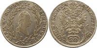 20 Kreuzer 1787  B Haus Habsburg Josef II....