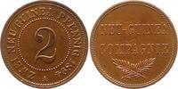 2 Pfennig 1894  A Neuguinea  Vorzüglich  175,00 EUR  zzgl. 4,00 EUR Versand