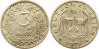 3 Mark 1931  D Weimarer Republik  Sehr schön +  295,00 EUR kostenloser Versand
