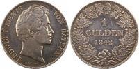 Gulden 1842 Bayern Ludwig I. 1825-1848. Winz. Kratzer, minimal berieben... 42,00 EUR  zzgl. 4,00 EUR Versand