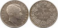 1/2 Gulden 1844 Nassau Adolph 1839-1866. Sehr schön  55,00 EUR  zzgl. 4,00 EUR Versand