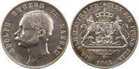 Taler 1863 Nassau Adolph 1839-1866. Sehr schön  100,00 EUR  zzgl. 4,00 EUR Versand