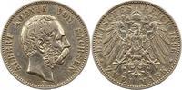 2 Mark 1896  E Sachsen Albert 1873-1902. Sehr schön  95,00 EUR  zzgl. 4,00 EUR Versand