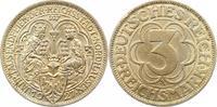 3 Mark 1927  A Weimarer Republik  Vorzüglich  150,00 EUR  zzgl. 4,00 EUR Versand