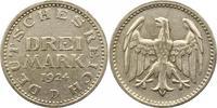 3 Mark 1924  D Weimarer Republik  Winz. Randfehler, sehr schön  38,00 EUR  zzgl. 4,00 EUR Versand