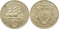 3 Mark 1927  A Weimarer Republik  Vorzüglich - Stempelglanz  145,00 EUR  zzgl. 4,00 EUR Versand