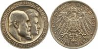 3 Mark 1911 Württemberg Wilhelm II. 1891-1918. Winz. Kratzer, fast vorz... 27,00 EUR  zzgl. 4,00 EUR Versand
