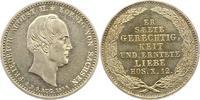 1/6 Sterbetaler 1854 Sachsen-Albertinische Linie Friedrich August II. 1... 45,00 EUR  zzgl. 4,00 EUR Versand