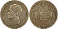 Taler 1858 Sachsen-Weimar-Eisenach Carl Alexander 1853-1901. Sehr schön  120,00 EUR  zzgl. 4,00 EUR Versand