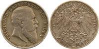 2 Mark 1905  G Baden Friedrich I. 1856-1907. Schöne Patina. Sehr schön  44,00 EUR  zzgl. 4,00 EUR Versand