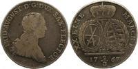 2/3 Taler 1767 Sachsen-Albertinische Linie Friedrich August III. 1763-1... 45,00 EUR  zzgl. 4,00 EUR Versand
