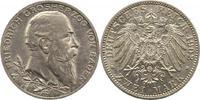 2 Mark 1902 Baden Friedrich I. 1856-1907. Vorzüglich +  29,00 EUR  zzgl. 4,00 EUR Versand