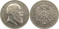 5 Mark 1907  G Baden Friedrich I. 1856-1907. Berieben, sehr schön  42,00 EUR  zzgl. 4,00 EUR Versand