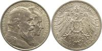 2 Mark 1906 Baden Friedrich I. 1856-1907. Fast Stempelglanz  32,00 EUR  zzgl. 4,00 EUR Versand