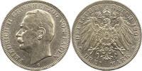 3 Mark 1909  G Baden Friedrich II. 1907-1918. Leicht berieben, fast vor... 18,00 EUR  zzgl. 4,00 EUR Versand