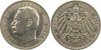 3 Mark 1912  G Baden Friedrich II. 1907-1918. Berieben, sehr schön  17,00 EUR  zzgl. 4,00 EUR Versand