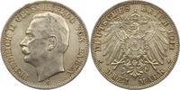 3 Mark 1914  G Baden Friedrich II. 1907-1918. Prägebedingt unebener Ran... 22,00 EUR  zzgl. 4,00 EUR Versand