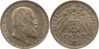 3 Mark 1910  F Württemberg Wilhelm II. 1891-1918. Vorzüglich  22,00 EUR  zzgl. 4,00 EUR Versand