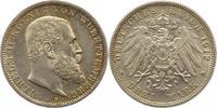 3 Mark 1912  F Württemberg Wilhelm II. 1891-1918. Winz. Randfehler, vor... 20,00 EUR  zzgl. 4,00 EUR Versand