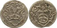 Pfennig zu 1/84 Taler 1599 Regensburg-Stadt  Winz. Schrötlingsfehler, s... 34,00 EUR  zzgl. 4,00 EUR Versand
