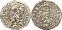 2 Kreuzer zu 1/2 Batzen 1628 Regensburg-Stadt  Zainende, vorzüglich +  42,00 EUR  zzgl. 4,00 EUR Versand