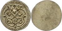 Einseitiger Pfennig 1745 Regensburg-Stadt  Fast Stempelglanz  30,00 EUR  zzgl. 4,00 EUR Versand
