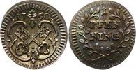 Pfennig 1750 Regensburg-Stadt  Schöne Patina. Vorzüglich - Stempelglanz  35,00 EUR  zzgl. 4,00 EUR Versand