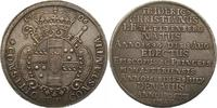 Zwittertaler auf den Tod 1706 Münster-Bistum Friedrich Christian von Pl... 754,00 EUR kostenloser Versand