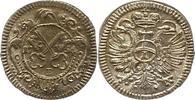 Kreuzer 1754 Regensburg-Stadt  Fast Stempelglanz  50,00 EUR  zzgl. 4,00 EUR Versand