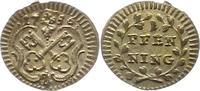 Pfennig 1756 Regensburg-Stadt  Winz. Schrötlingsfehler, vorzüglich +  25,00 EUR  zzgl. 4,00 EUR Versand