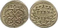 Pfennig 1759 Regensburg-Stadt  Prachtexemplar. Fast Stempelglanz  32,00 EUR  zzgl. 4,00 EUR Versand
