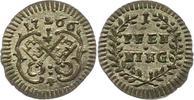 Pfennig 1766 Regensburg-Stadt  Vorzüglich +  22,00 EUR  zzgl. 4,00 EUR Versand